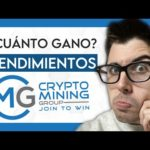 ¿Cuánto GANO? 🤑 Rendimientos Crypto Mining Group (Primer Mes)