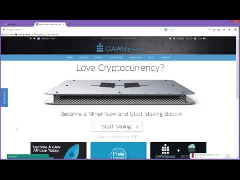 GAW Miners Hashlet Zen Cloud Hashing Review for Scrypt LTC DOGE