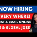 OMG!😳 Non Phone Email & Chat Stay Home Jobs + CRYPTO Payments Available!