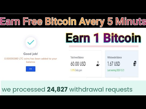 free bitcoin claim| make money online|ads watching job