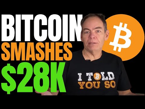 BITCOIN PRICE BLASTS PAST $28K AS MAX KEISER PREDICTS!! BTC MARKET CAP NOW ABOVE HALF A TRILLION!!