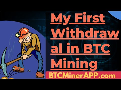 My Bitcoin Withdrawal From BTCMinerApp | Make Daily Profits in BTC While Price Prediction