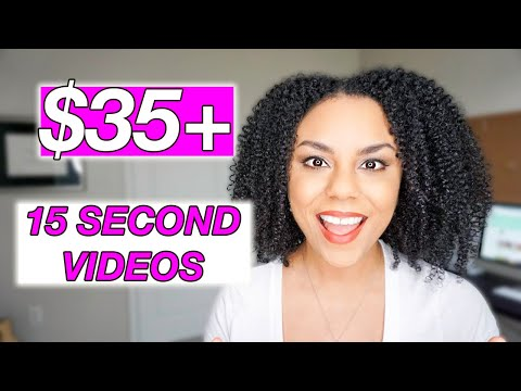 How To Make Money Online Creating 15 Second Videos!