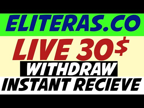 Eliteras.co Live 30$ Payment Proof | Make Money Online | New Multy Crypto Earning Investing Site