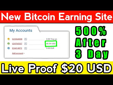 $20 Live Proof | New Bitcoin Mining Website Launched | New Bitcoin Mining Website | Plusfund Proof