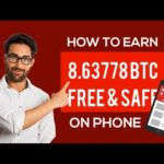 ANDROID BITCOIN MOBILE CLOUD MINING APP 2020     MINE 0 0145btc daily with your Android device