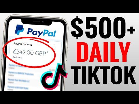 Make $500+ Daily on TIKTOK - Make Money Online