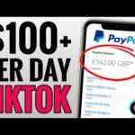 Earn $100+ Per Day From TIKTOK - Make Money Online
