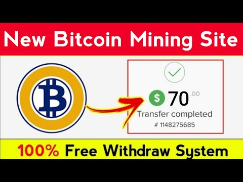Earn 70$ BTC | Free Bitcoin Mining Site Without Investment 2021 | New Bitcoin Mining site 2021