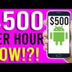 Earn $500 Per Hour Super Fast NOW!? [Make Money Online]
