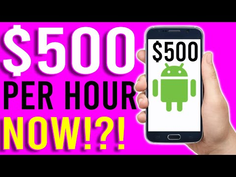 Earn $500 Per Hour Super Fast NOW!? [Make Money Online]