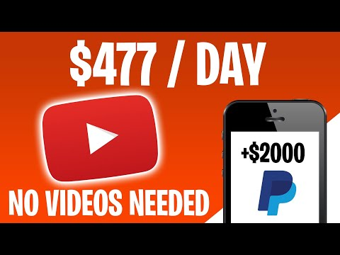 MAKE $477 PER DAY ON YOUTUBE WITHOUT MAKING VIDEOS (Make Money Online)