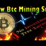 New Bitcoin mining site 2020 btc earning site 2020 Best BTC mining site 2020#freebitcoinminingsite