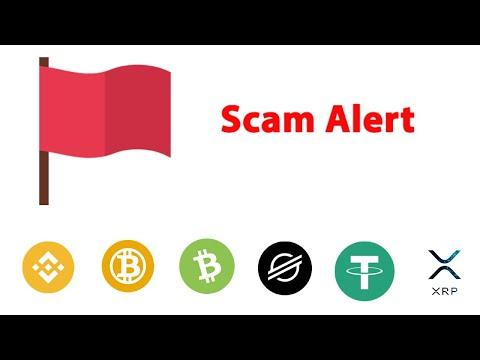 Moedas SCAM Red Flag | Cortes Fraternidade Crypto