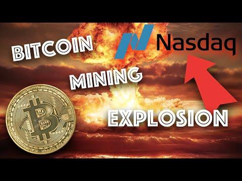 Bitcoin Mining Stocks EXPLODE on NASDAQ