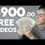 Get Paid $900+ To Share FREE Videos (Make Money Online)