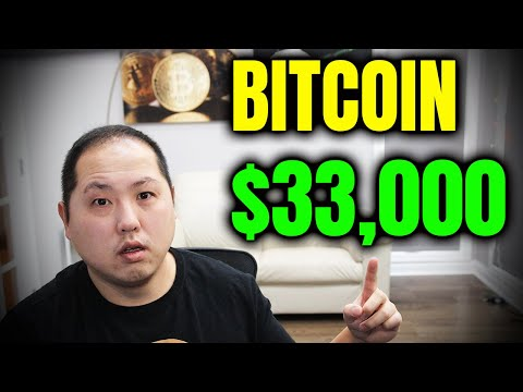 BREAKING NEWS:  Bitcoin PUMPS to $33,000!!!