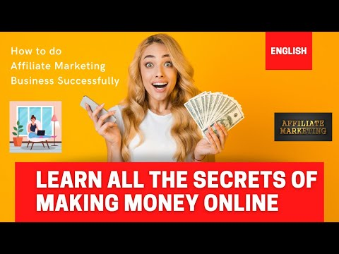 Affiliate Marketing I Make Money Online I Work from Home I Learn How to make 1 Lakh every month