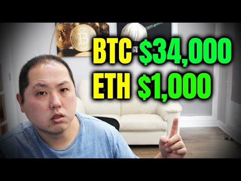 Bitcoin at $34,000 and Ethereum at $1000 | What's Next?