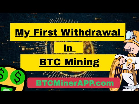 My First Withdrawal In Bitcoin Mining | Profits 0.1 BTC Daily | BTCMinerApp Review