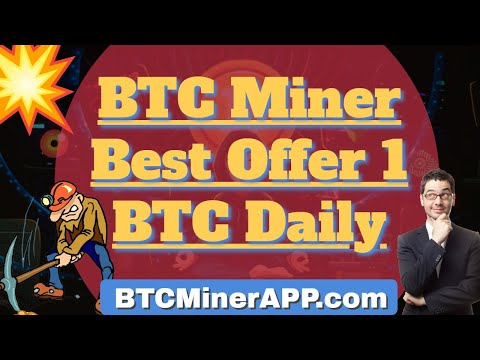 Earn Free Bitcoin With Btc Miner app 0.1717BTC | Earn Money From Home In Pandemic 2021