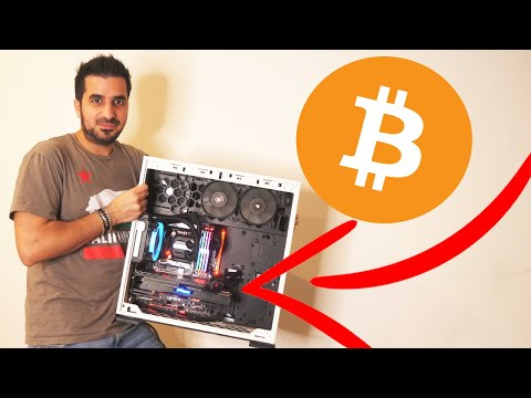 Bitcoin Mining in 2021 ON A YouTube Workstation