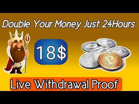Crypto Cloud 2021 | Bitcoin Mining 2021| Just Double Your Investment | 18$ Live Withdrawal Proof