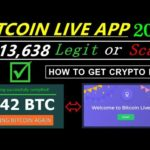 BITCOIN LIVE APP 2021 UPDATE I LEGIT OR SCAM I 0.42 BTC LIVE PAYMENT PROOF I HOW TO GET CRYPTO KEY