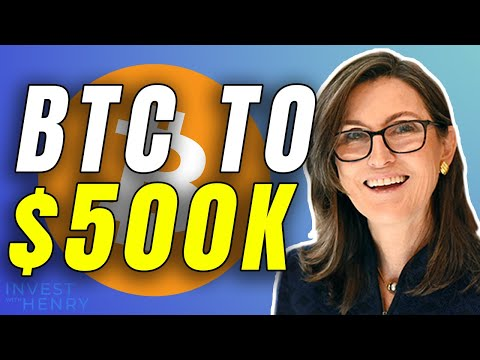 Ark's Invest Cathie Wood: Bitcoin to $500,000