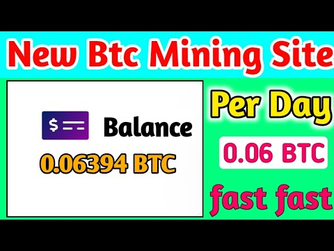 New Bitcoin Mining Website    New Btc Mining Site    New Bitcoin Cloud Mining Site    Bitcoin mining