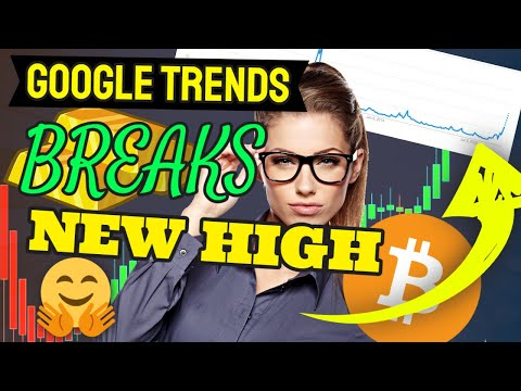 BITCOIN GOOGLE TRENDS BREAKING OUT!!! GET READY (CRYPTO CHARTS NEWS)