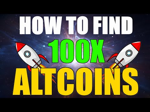 HOW TO FIND 100X ALTCOINS FOR 2021 (TIME IS RUNNING OUT!)