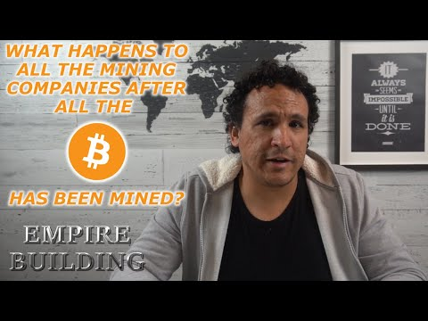 What happens to Bitcoin mining companies after all the bitcoin is mined?
