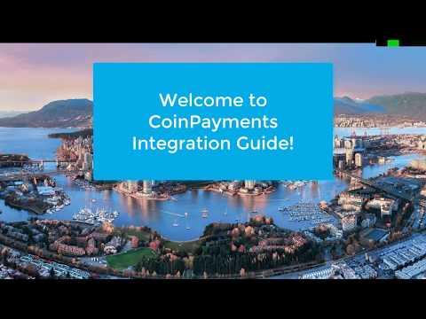 CoinPayments How To  Setup A  Merchant Account eCommerce integration Part 1