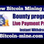 New Bitcoin Mining Site|Best Mining Site2021|Btc earning site|Bit coin-mine.com