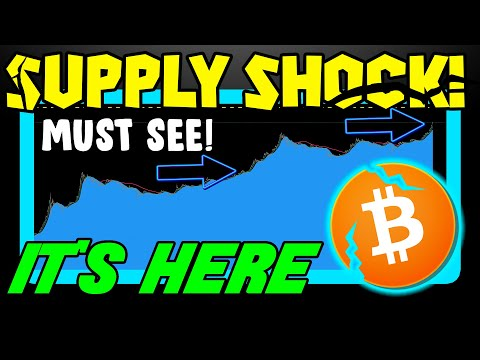BITCOIN BREAK COMING?! BTC SUPPLY SHOCK JUST GETTING STARTED!