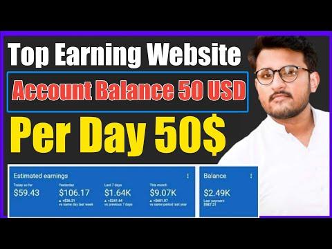 earn money daily 50$ free earning website instant Payout  make Money Online in Pakistan real website