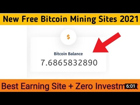 Free Bitcoin Mining Website without investment 2021|How to make money online without investment 2021