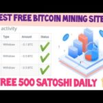 Free Bitcoin Mining Website 2021 || Free Bitcoin Earning Website | Live Payment Proof ❤️