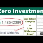 Online Earning Website 2021  How to make money online without investment   Best bitcoin earning site