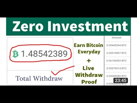 Online Earning Website 2021 |How to make money online without investment | Best bitcoin earning site
