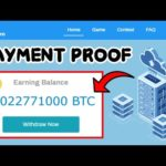 New Free Bitcoin Cloud Mining Site Paying Or Scam 0.02 BTC Live Withdraw Payment Proof 2021