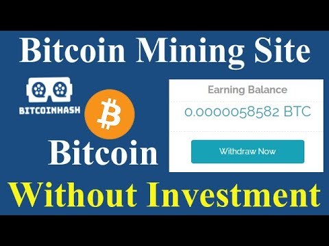 New Bitcoin Mining Site | Without Investment | Earn Free Bitcoin Without Any Work | bitcoinhash.co |