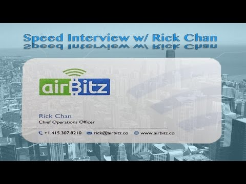 THE Speed Interview w/ RickChan from airBitz