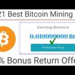 2021 Best Bitcoin Mining Site Biggest Offers 25% Bonus Return Free Bitcoin Mining Site With Proof 🔴