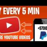 Make $7 Every 5 Min SHARING YOUTUBE VIDEOS (Make Money Online 2021)