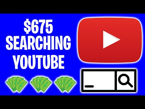 Earn $675 PER DAY For YouTube Search (Make Money Online 2021)