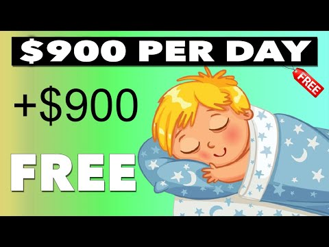 Earn $900/Daily While YOU Sleep! (FREE Method) Make Money Online *PROOF*