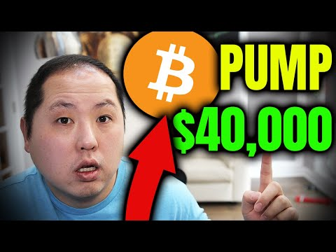 EXPLOSIVE NEWS PUMPS BITCOIN TO $40,000!!!
