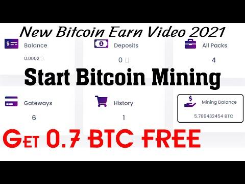 Start Bitcoin Mining 2021 | Get 0.7 BTC FREE | New Bitcoin Mining Site | BTC Mining Site 2021